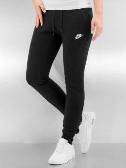 Nike Jogginghose W NSW FLC Tight schwarz