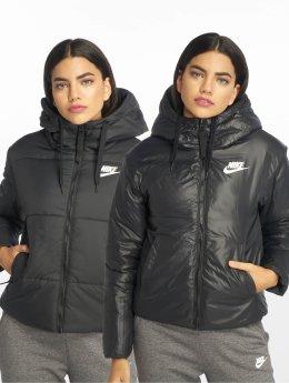 Nike Kurtki pikowane Sportswear czarny