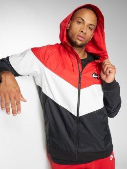 Nike Kurtki przejściowe Sportswear Windrunner czerwony