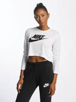 Nike Langærmede HBR hvid