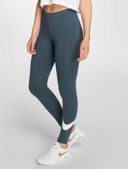 Nike Legging Club Logo 2 blauw
