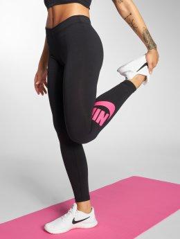 Nike Leggings Leg-A-See svart