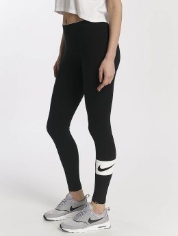 Nike Leggings/Treggings Nike Sportswear Club Swoosh czarny