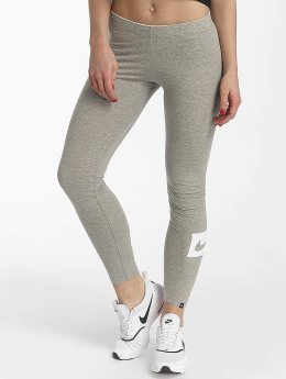 Nike Leggings/Treggings Sportswear Club Swoosh grå