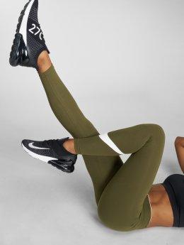 Nike Leggings/Treggings Club Logo 2 oliven
