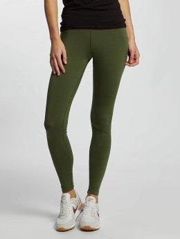 Nike Leggings/Treggings Just Do It oliwkowy