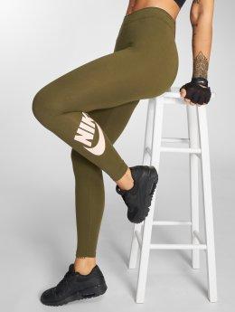 Nike Leggingsit/Treggingsit Club Futura oliivi