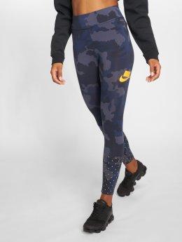 Nike Leginy/Tregginy Leggings modrý