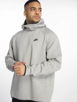 Nike Mikiny Sportswear Tech Fleece šedá