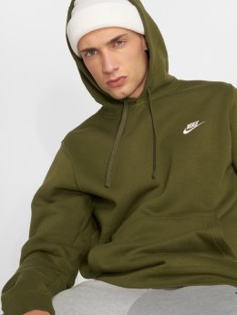 Nike Mikiny Sportswear olivová