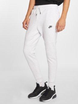 Nike Pantalone ginnico Tech Fleece bianco