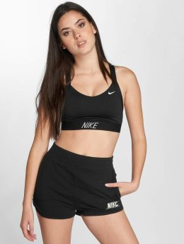 Nike Performance Biustonosz sportowy Pro Indy Logo Back czarny