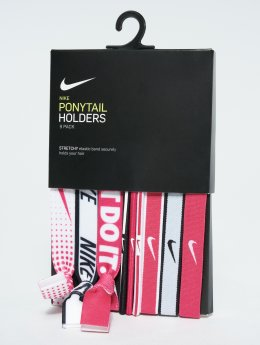 Nike Performance Essentials Mixed 9PK Ponytail Holder pink