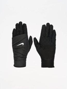 Nike Performance Gants Womens Quilted Run 2.0 noir