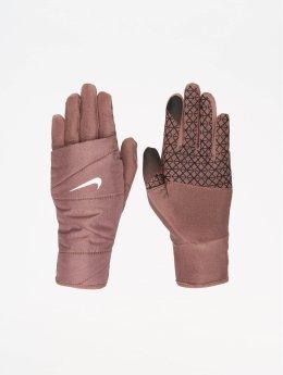Nike Performance Guantes deportivos Womens Quilted Run 2.0 púrpura