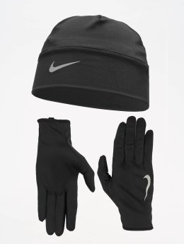 Nike Performance Luer Mens Run Dry svart