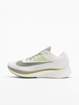 Nike Zoom Fly Running Sneakers White/Gunsmoke/Atmosphere Grey/Volt