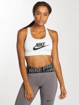 Nike Performance Soutiens-gorge de sport Swoosh Futura blanc