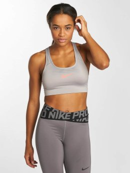 Nike Performance Sport BH Swoosh Sports grau