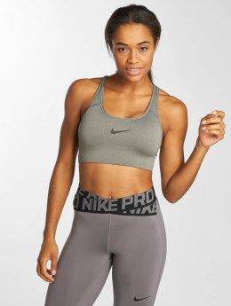 Nike Performance Sport BH Swoosh grau