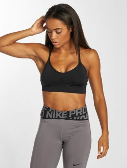 Nike Performance Sport BH Seamless Light schwarz