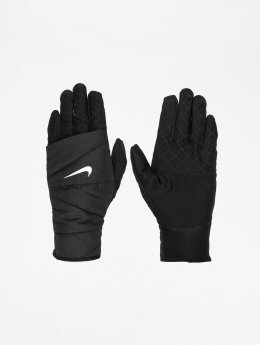 Nike Womens Quilted Run 2.0 Gloves Black/Silvern