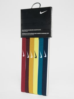 Nike Performance Sweat Band Printed Assorted 6PK red