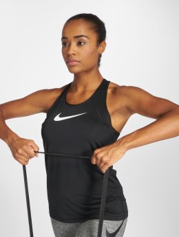 Nike Performance Tank Tops Pro musta