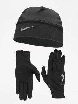 Nike Performance Tocados Mens Run Dry negro
