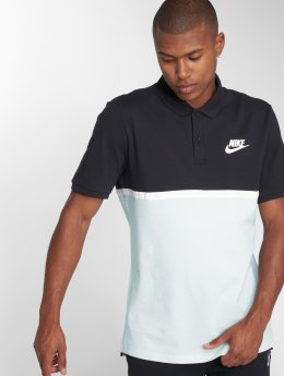 Nike Poloshirt Colorblock black