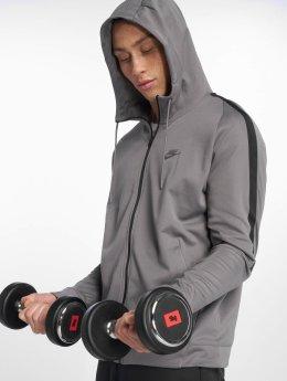 Nike Prechodné vetrovky Sportswear šedá