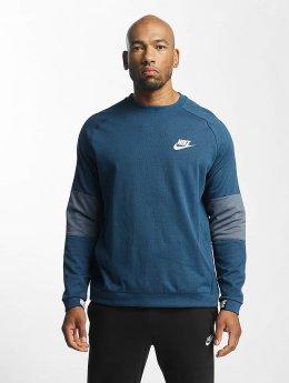 Nike Pulóvre Sportswear Advance 15 Fleece modrá