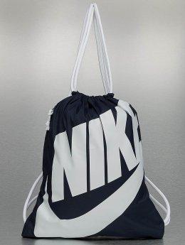 Nike Sac à cordons Heritage bleu