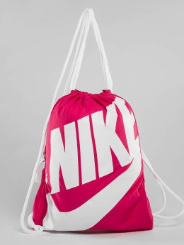 Nike Sac à cordons Heritage magenta