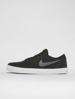 Nike SB Сникеры Check Solarsoft Skateboarding зеленый