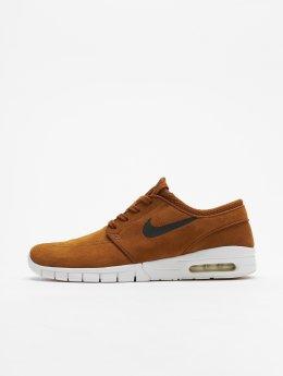 Nike SB Сникеры Stefan Janoski Max коричневый