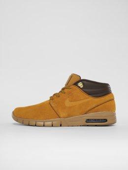 Nike SB Сникеры Stefan Janoski Max Mid коричневый