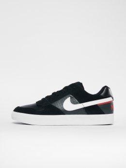 Nike SB Сникеры Delta Force Vulc черный