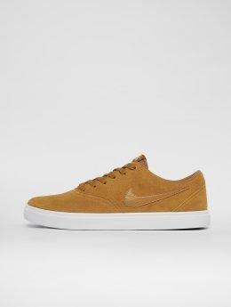 Nike SB Baskets Check Solarsoft Skateboarding beige
