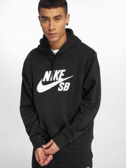 Nike SB Bluzy z kapturem Icon czarny