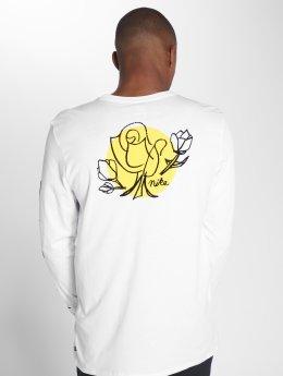 Nike SB Camiseta de manga larga Roses blanco