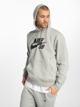 Nike SB Hoodies Icon grå