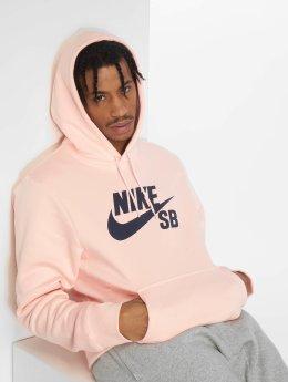 Nike SB Hupparit Icon vaaleanpunainen