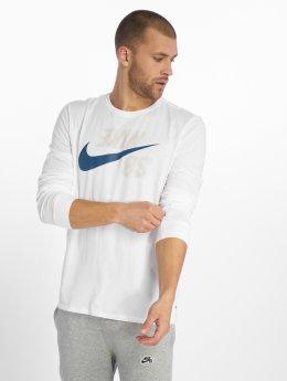 Nike SB Langermet Logo hvit