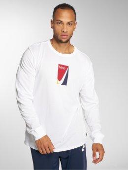 Nike SB Maglietta a manica lunga SB bianco
