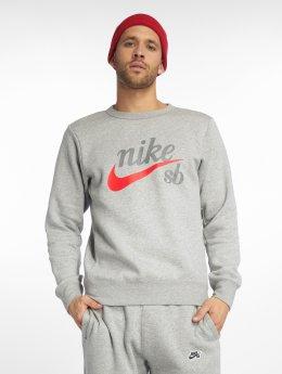 Nike SB Pullover Icon grau