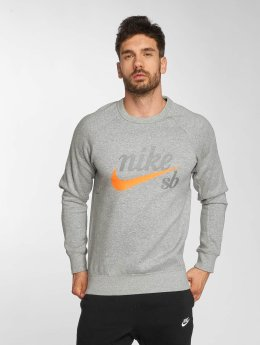 Nike SB Pulóvre Top Icon GFX šedá