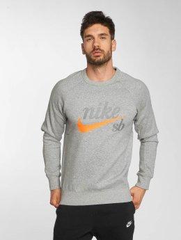 Nike SB Puserot Top Icon GFX harmaa
