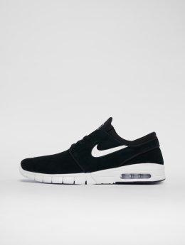 Nike SB sneaker Stefan Janoski Max Leather zwart