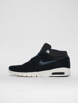 Nike SB Sneakers Stefan Janoski Max Mid Skateboarding czarny